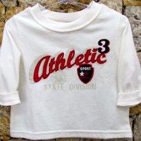 1348 - Camiseta na cor manteiga - 12 meses - 1 ano - baby Q - USA