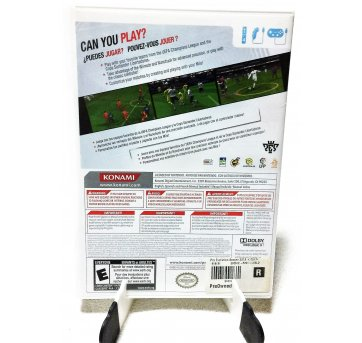 2775 - Wii - Game PES 2012 - Pro Evolution Soccer - Sem faixa etaria - Konami - USA