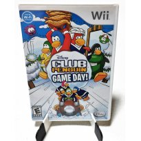 2766 - Wii - Club Penguin - Game Day! -  - Disney