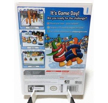 2766 - Wii - Club Penguin - Game Day! - Sem faixa etaria - Disney