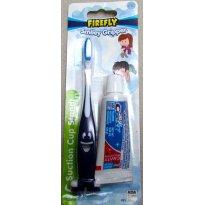 3045 - Kit escova de dentes e creme dental - Firefly Smiley Gripper - Sem faixa etaria - Firefly - USA