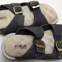 3048 - Sandália marrom KEA BR -H/ tam 28 - 17,5 cm - 28 - Kea