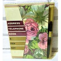 3068 - Address Telephone Book & Pen Set - Sem faixa etaria - Lareaux - USA