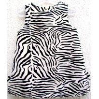 3189 - Jumper zebrinha preto e branco -  Gymboree - M/12-18 meses - 12 a 18 meses - Gymboree