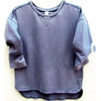 3436 - Blusão azul jeans Old Navy - M/10-12 anos - 10 anos - Old Navy (USA)