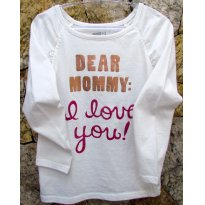 3486 - Top branco Crazy8  - M/3 anos - Dear Mommy - 3 anos - Crazy 8