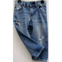 TH - 3601 - Calça jeans GAP/ Destroyed  -  H/2 anos - 2 anos - Baby Gap