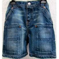 TH - 3816 - Bermuda jeans Ralph Lauren - H/24 meses - 2 anos - Ralph Lauren