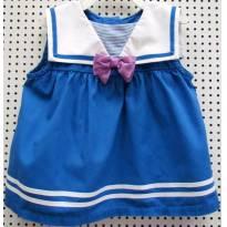 3860 - Batinha azul royal  e branco Gymboree - M/18-24 meses