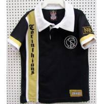 3873 Camiseta unissex do Corinthians - 4 anos - Minha História - 4 anos - Poderoso Timão