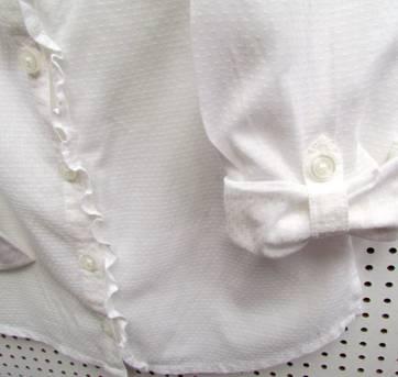 3908 - Camisa branca Gap SX - H/4-5 anos - 4 anos - Baby Gap