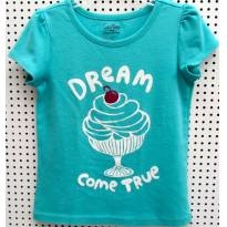 D3915 Top verde Gap - M/3 anos - Dream come true - 3 anos - Baby Gap