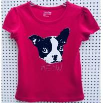 D3928 - Top pink Gap- M/ 2 anos - Meu cão amigo. - 2 anos - Baby Gap
