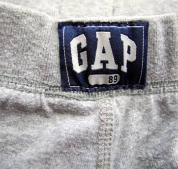 4023 - Bermuda cinza chumbo Gap - H/3 anos - 3 anos - Baby Gap