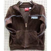 4088 - Blusão marrom e azul Puma - M/24 meses - 2 anos - Puma