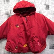 4101 - Pelerine vermelho com capuz - Baby Miri - M/ 4-5 anos- - 4 anos - Importado