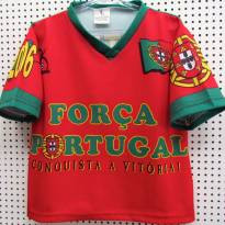 4119 - Camiseta de Portugal Kalciomania - H/2 anos - 2 anos - Importado
