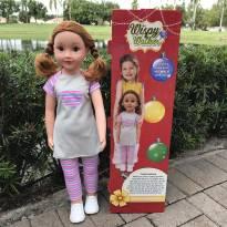4397 - Boneca Wispy Walker – Importada  (Uneeda Doll) - 68 cm.