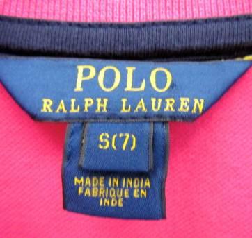 4412-Vestido pink Ralph Lauren 7 anos - 7 anos - Ralph Lauren