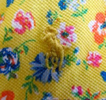 4413-Batinha amarela estampada Ralph Lauren 6 anos - 6 anos - Ralph Lauren