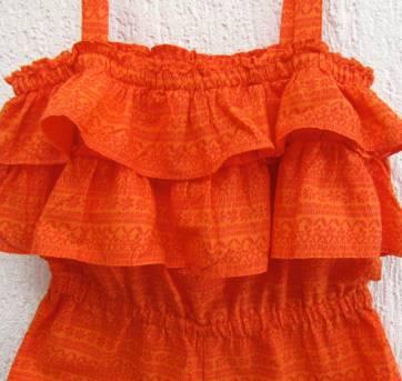 4417-D-Macaquinho laranja GAP 4 anos - 4 anos - Baby Gap