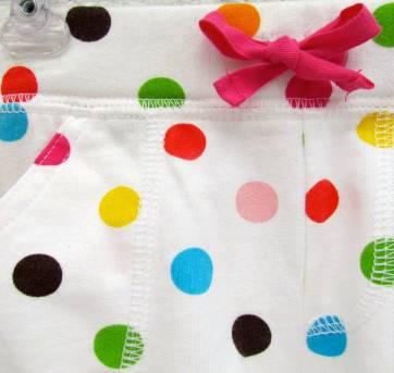 4441-D-short branco com bolinhas coloridas Carter`s 18 meses - 18 meses - Carter`s