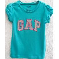 4465-D-Top Verde Gap 3 anos - 3 anos - Baby Gap