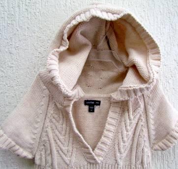 4532-D-Vestido Gap bege claro em tricô - Menina 5 anos - 5 anos - Baby Gap
