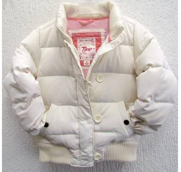 4547- Casaco branco Gap - Menina 8 anos - 8 anos - Baby Gap