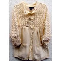 4540 - D-Casaco em tricô  Gap - Menina 10 anos - 10 anos - Baby Gap