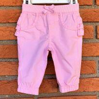 4598 - Calça rosa Garanimals – Menina 0 a 3 meses - 0 a 3 meses - Garanimals