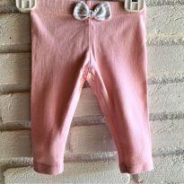 4614 - Calça legging rosa – Koala Baby – Menina 3 meses - 3 meses - Koala Baby