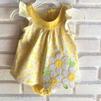 4642 - Vestido body Firts Impression - menina 3 a 6 meses - 3 a 6 meses - First Impressions