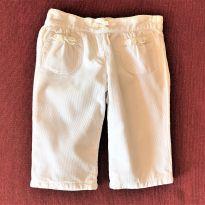 4625 - Calça off white Gymboree - menina 3 a 6 meses - 3 a 6 meses - Gymboree
