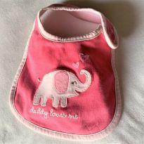 4649 - Babador elefantinha - menina 3 a 6 meses -  - Importado