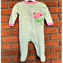 4653 - Macacão com pezinho Garanimals – Joaninha - menina 3 a 6 meses - 3 a 6 meses - Garanimals