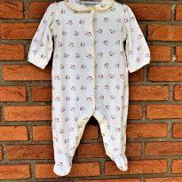 4683 - Macacão lilás com pezinho -  Ralph Lauren - menina 6 a 9 meses - 6 a 9 meses - Ralph Lauren