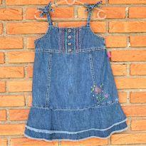 4719 - Vestido Jeans Carter`s – Menina 6 anos - 6 anos - Carter`s