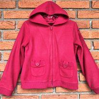 4704 - Casaquinho pink com capuz Carters – Menina 6 anos - 6 anos - Carter`s