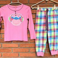 4713 - Pijama duas peças Puket – Menina 6 anos - 6 anos - Puket