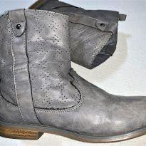 4746 - Bota cinza cano curto Old Navy – 11 USA/27 BR/20 cm. - 27 - Old Navy