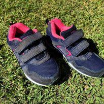 4753 - Tenis marinho e pink Danskin Now – USA 11/BR 27/19.5 cm. - 27 - Danskin Now - USA