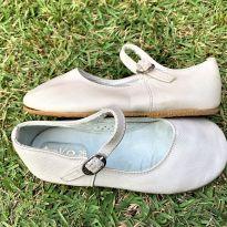 4759 - Sapato cor areia modelo boneca – Toke – 26 – 18 cm. - 26 - Toke