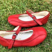 4760 - Sapato vermelho modelo boneca Kid`s Land – 26 – 18.5 cm. - 26 - kids place