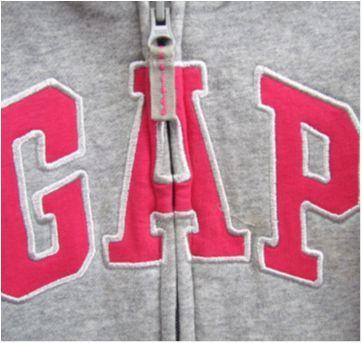 4792 - D-Blusão com capuz cinza mescla e pink - Gap  M/5 anos - 5 anos - Baby Gap