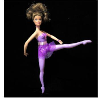 4805 - Barbie Bailarina - lilás – Edição Mattel 2011 - Sem faixa etaria - Mattel