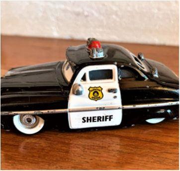 4820 - Sheriff – personagem das aventuras The Cars - Sem faixa etaria - Disney