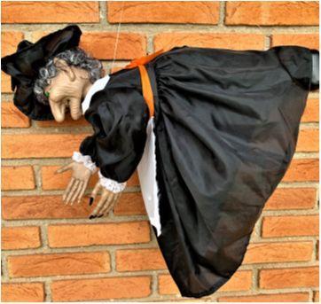 4851 - Bruxa do Halloween – Importada – 55 cm. (com luz e som) - Sem faixa etaria - Importada