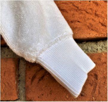4857 - Blusão branco com capuz Carter's – unissex RN - Recém Nascido - Carter`s