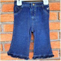 4859 - Calça Jeans Faded Glory – Menina 3 a 6 meses - 3 a 6 meses - Faded Glory (EUA)